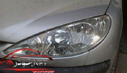 مات شدن چراغ خودرو